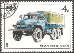 Sellos de Europa - Rusia -  Ural-375D (1964) camión Ural-375D