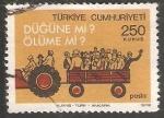 Sellos del Mundo : Asia : Turquía : Traffic safety Seguridad vial
