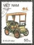 Sellos de Asia - Vietnam -  Old Automobiles