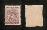 Stamps Argentina -  cabeza de la republica