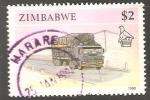 Sellos del Mundo : Africa : Zimbabwe : Lorry camión