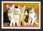 Stamps Equatorial Guinea -  Cats,III-1976