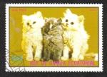 Sellos de Africa - Guinea Ecuatorial -  Cats,III-1976