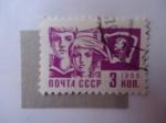Sellos de Europa - Rusia -  CCCP - 3kon 1966 (Scott/Ru:3259)