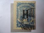 Stamps Colombia -  Servicio de Transportes Aéreos de Colombia.