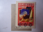 Stamps of the world : Colombia :  Liga Antituberculosa Colombiana. 1947-1949-1950