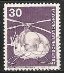 Stamps Germany -  Helicóptero de rescate