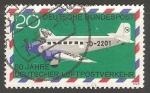 Sellos de Europa - Alemania -  50 years Luftpost