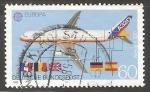 Sellos de Europa - Alemania -  Airbus A 320