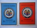 Sellos de America - Colombia -  Organización de los Estados Américanos - 70ª Aniversario.