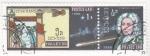 Stamps Laos -  Cometa Halley 1986