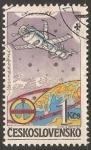Stamps Czechoslovakia -  Naves espaciales