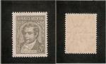 Stamps America - Argentina -  Mariano Moreno (Variedad)