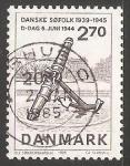 Sellos del Mundo : Europa : Dinamarca : Normandy Invasion