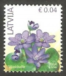 Stamps : Europe : Latvia :  Flor