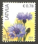 Stamps : Europe : Latvia :  Flor rudzupuke