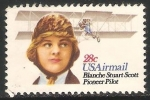 Sellos de America - Estados Unidos -  Blanche Scott