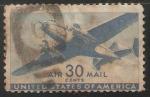 Sellos de America - Estados Unidos -  Correo aereo