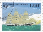 Stamps Benin -  velero de epoca