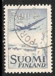 Sellos del Mundo : Europa : Finlandia : Avion