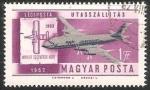 Stamps : Europe : Hungary :  Wright testverex gepe