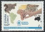 Stamps Spain -  Programa mundial de alimentos