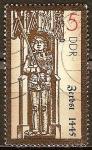 Sellos del Mundo : Europa : Alemania :  Las estatuas de Roland (Zerbst,1445) DDR.