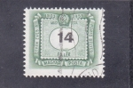 Stamps Hungary -  cifra