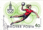Stamps Hungary -  Moscu-80