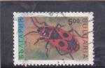 Stamps : Europe : Bulgaria :  mariquita