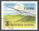 Sellos de Europa - Hungría -  Oldtimer Rally 1929-1989
