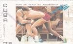 Sellos de America - Cuba -  juegos panamericanos Mar del Plata.95