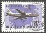 Sellos de Europa - Hungría -  Boing 747