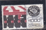 Stamps of the world : Mexico :  Mexico exporta maquinaria agricola