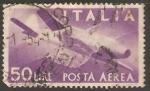 Sellos de Europa - Italia -  Avion