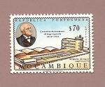 Stamps Africa - Mozambique -  Aeropuerto Almirante Gago Coutinho - República Portuguesa