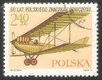Stamps Poland -  50 Lat Polskiego Znaczka Lotniczego