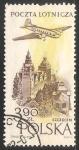 Sellos de Europa - Polonia -  Correo aereo