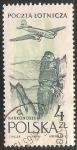 Sellos de Oceania - Polynesia -  Correo aereo