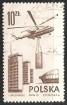 Stamps Poland -  Mi6 transport helicopter