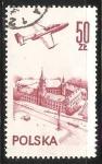 Sellos de Europa - Polonia -  Avion