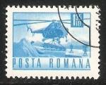 Sellos de Europa - Rumania -  Helicoptero