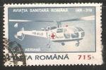 Sellos de Europa - Rumania -  Emergency helicopter IAR-316