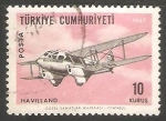 Sellos del Mundo : Asia : Turquía : Airmail Issue