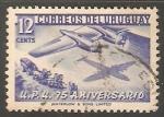 Stamps Uruguay -  U.P.U. 75 aniversario