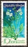 Sellos del Mundo : Europa : Alemania :  Plantas Protegidas(Crambe maritima)-DDR.