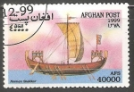 Stamps Afghanistan -  Norman Snekkar