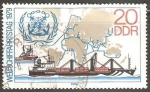 Stamps Germany -  Container ship-Navio porta-contentores