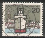 Stamps Germany -  Hamburg 775-775 años del puerto de Hamburgo