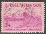 Sellos de Europa - Bélgica -  centre de communications